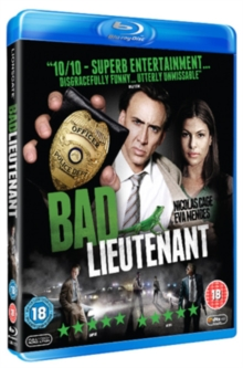 Bad Lieutenant: Port of Call - New Orleans, Blu-ray
