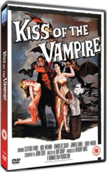 Kiss of the Vampire, DVD  DVD
