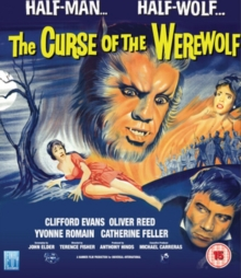 Curse of the Werewolf, Blu-ray  BluRay