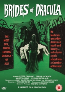 The Brides of Dracula, DVD DVD