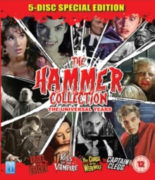 The Hammer Collection, Blu-ray