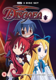 Disgaea: Volumes 1-3, DVD