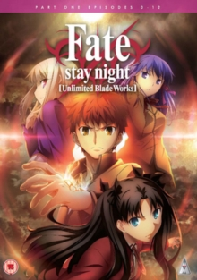 Fate Stay Night: Unlimited Blade Works - Part 1, DVD