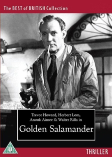 Golden Salamander, DVD