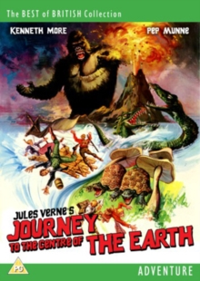 Journey to the Centre of the Earth, DVD