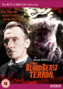 The Blood Beast Terror, DVD