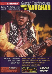 Lick Library: Stevie Ray Vaughan - Guitar Techniques, DVD