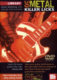 Lick Library: 50 Metal Killer Licks, DVD  DVD