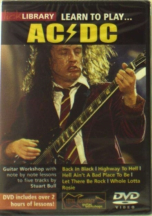 Lick Library Learn To Play Acdc Gtr Dvd0, DVD DVD