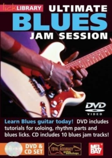 Lick Library: Ultimate Blues Jam Session, DVD