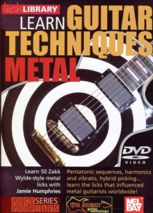 Lick Library: Zakk Wylde Metal Guitar Techniques, DVD
