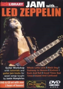 Lick library: Jam with Led Zeppelin, DVD