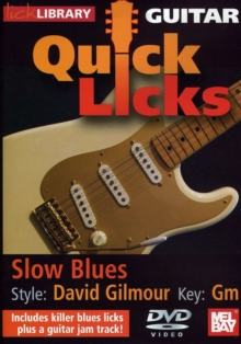 Lick Library: Guitar Quick Licks - David Gilmour Slow Blues, DVD