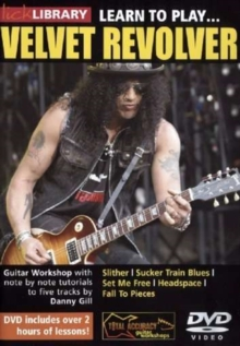 Lick Library: Learn to Play Velvet Revolver, DVD