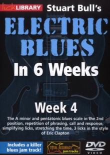 Electric Blues in 6 Weeks With Stuart Bull: Week 4, DVD