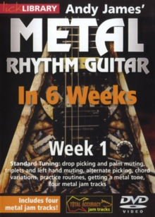Andy James' Metal Rhythm Guitar in 6 Weeks: Week 1, DVD