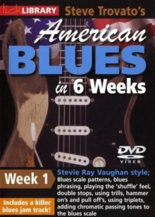 American Blues Guitar in 6 Weeks: Week 1 - Stevie Ray Vaughan, DVD  DVD