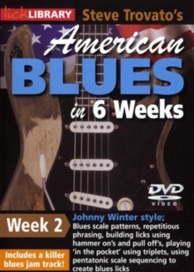 American Blues Guitar in 6 Weeks: Week 2 - Johnny Winter, DVD
