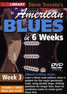American Blues Guitar in 6 Weeks: Week 3 - Albert Collins, DVD