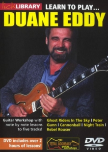 Lick Library: Learn to Play Duane Eddy, DVD