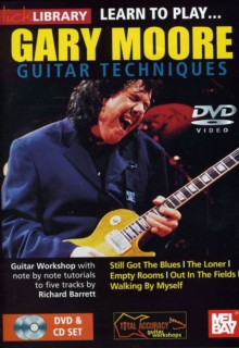 Lick Library: Learn to Play Gary Moore, DVD  DVD