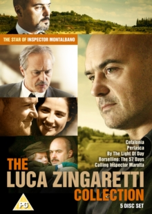 The Luca Zingaretti Collection, DVD