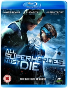 All Superheroes Must Die, Blu-ray  BluRay