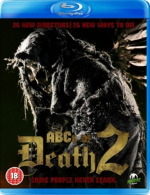 The ABCs of Death 2, Blu-ray
