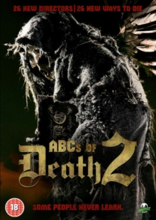 The ABCs of Death 2, DVD