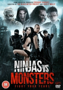 Ninjas Vs Monsters, DVD DVD