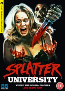 Splatter University, DVD  DVD