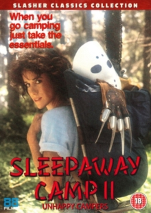 Sleepaway Camp 2 - Unhappy Campers, DVD
