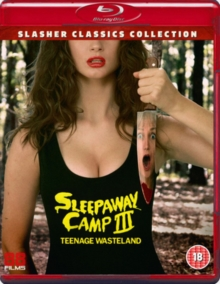 Sleepaway Camp 3 - Teenage Wasteland, Blu-ray BluRay