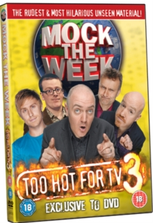 Mock the Week: Too Hot for TV 3, DVD