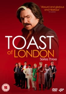 Toast of London: Series 3, DVD  DVD