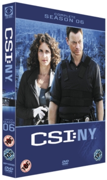 CSI New York: Complete Season 6, DVD  DVD