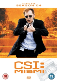 CSI Miami: The Complete Season 4, DVD