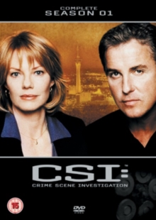 CSI - Crime Scene Investigation: The Complete Season 1, DVD