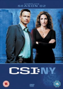 CSI New York: Complete Season 2, DVD