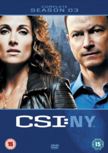 CSI New York: Complete Season 3, DVD