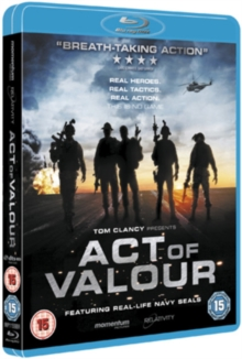Act of Valour, Blu-ray