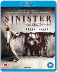 Sinister, Blu-ray  BluRay