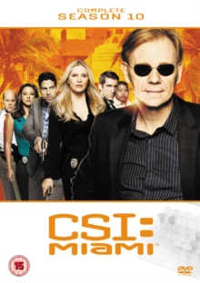 CSI Miami: The Complete Season 10, DVD  DVD