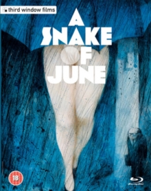 A   Snake of June, Blu-ray