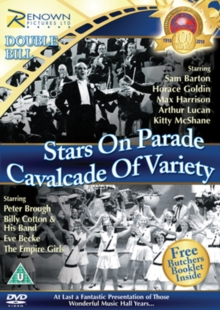 Stars On Parade/Cavalcade of Variety, DVD  DVD