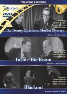 The Crime Collection, DVD