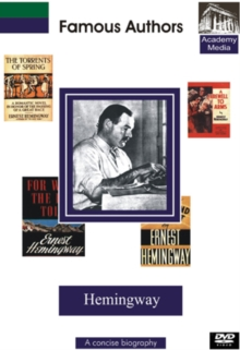 Famous Authors: Hemingway - A Concise Biography, DVD  DVD