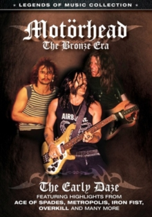 Motorhead: The Bronze Era, DVD  DVD