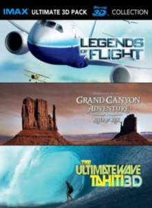IMAX: Ultimate 3D Collection, Blu-ray