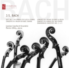 Johann Sebastian Bach: Suite No. 2 in B Minor/..., CD / Album